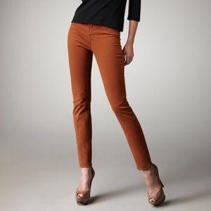 J Brand Classic Skinny Jeans in Terra Cotta